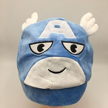 12inches Captain America plush hat