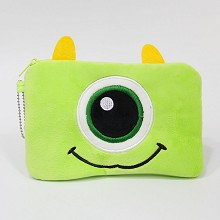 Monsters University anime plush wallet