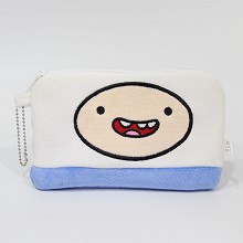 Adventure Time anime plush wallet