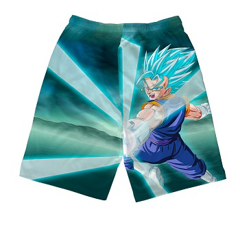 Dragon Ball anime beach pants shorts middle pants