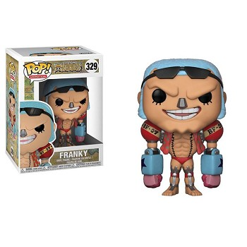 FUNKO POP 329 One Piece Frank anime figure