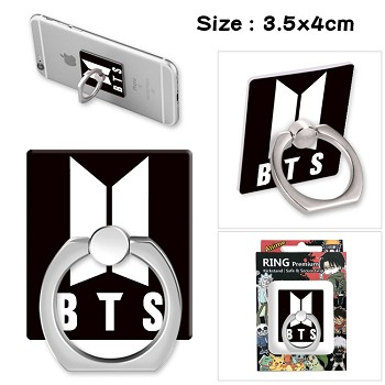 BTS ring phone support frame rack shelf