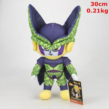 11inches Dragon Ball Cell anime plush doll