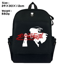Darling in the FrankXX anime canvas backpack bag