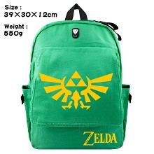 The Legend of Zelda canvas backpack bag