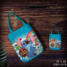 Stitch canvas tote bag shopping bag