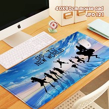 One Piece anime big mouse pad
