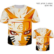 Naruto anime short sleeve full print modal t-shirt