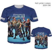 Fortnite short sleeve full print modal t-shirt