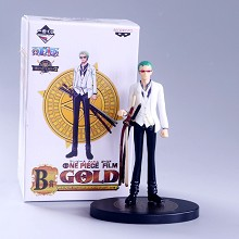 One Piece Gold Zoro anime figure