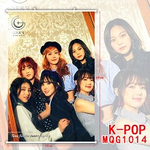 K-POP star wall scroll