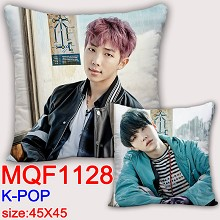K-POP star two-sided pillow