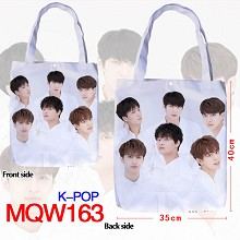 K-POP star oxford shopping bag handbag
