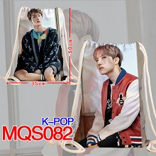 K-POP star drawstring backpack bag