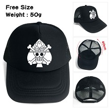 One Piece ACE anime cap sun hat