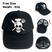 One Piece Sanji anime cap sun hat