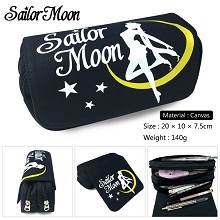 Sailor Moon anime canvas pen bag pencil bag
