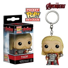Funko-POP Thor figure doll key chain