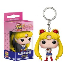 Funko-POP Sailor Moon figure doll key chain