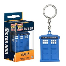 Funko-POP Doctor Who figure doll key chain