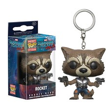 Funko-POP Guardians of the Galaxy figure doll key chain