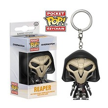 Funko-POP Overwatch figure doll key chain