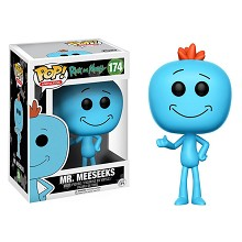 Funko-POP 174# Rick and Morty Mr.Meeseeks figure