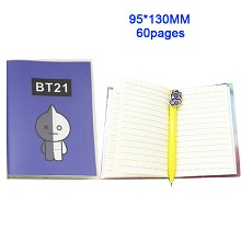Star BTS notebook(60pages)
