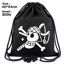 One Piece Usopp anime drawstring backpack bag