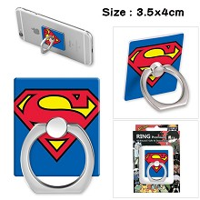 Super Man ring phone support frame rack shelf