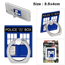 Doctor Who ring phone support frame rack shelf