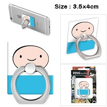 Adventure Time anime ring phone support frame rack...