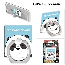 We Bare Bears ring phone support frame rack shelf