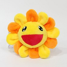 5inches Sun flower plush dolls set(10pcs a set)
