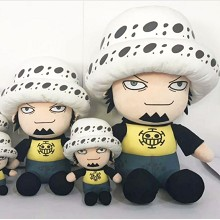 12inches One Piece Law anime plush doll