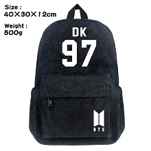 BTS-97-DK canvas backpack bag