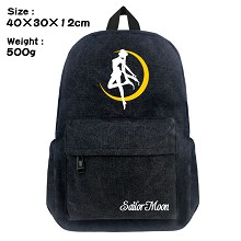Sailor Moon anime canvas backpack bag