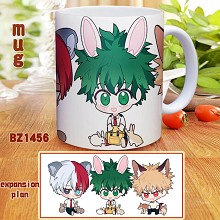 My Hero Academia anime cup mug