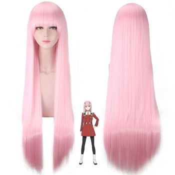 DARLING in the FRANXX Code:002 anime cosplay wig