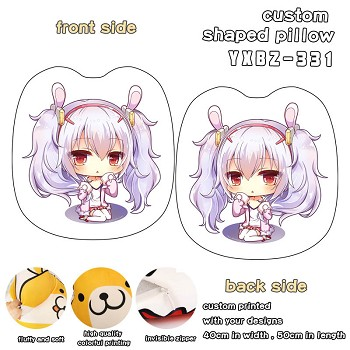 Azur Lane custom shaped pillow