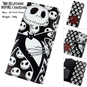 The Nightmare Before Christmas long wallet