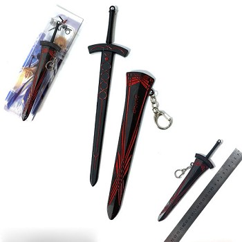 Fate anime knife key chain 220MM