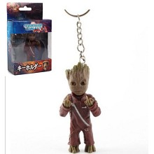 Guardians of the Galaxy Groot figure doll key chain