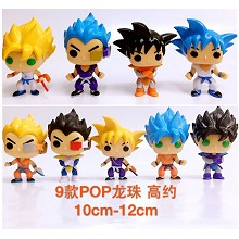 Dragon Ball anime figures set(9pcs a set) no box