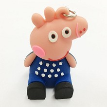 Peppa Pig key chain Mobile phone bracket
