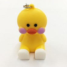 Duck key chain Mobile phone bracket