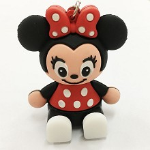 Minnie Mouse key chain Mobile phone bracket