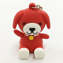 Dog key chain Mobile phone bracket