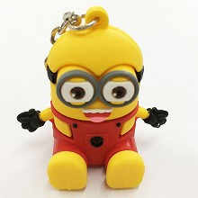 Despicable Me key chain Mobile phone bracket