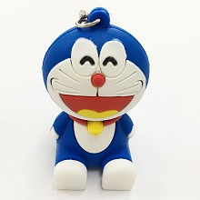 Doraemon key chain Mobile phone bracket